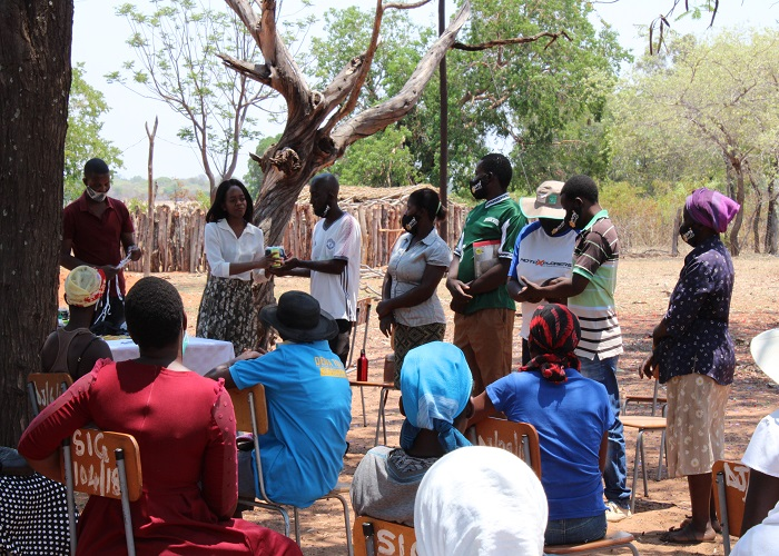 COVID-19 Relief for marginalized communities in Hwange Rural District